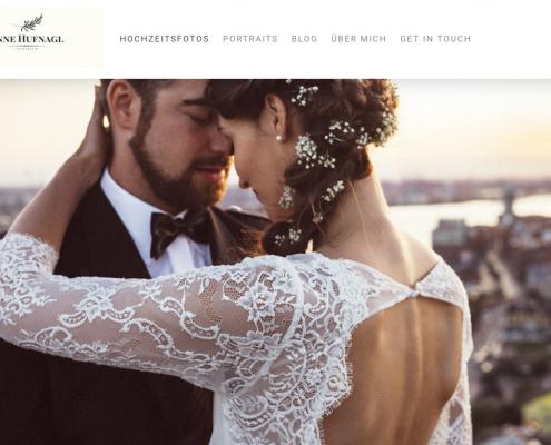 Jimdo Beispiel Fotografen Homepage