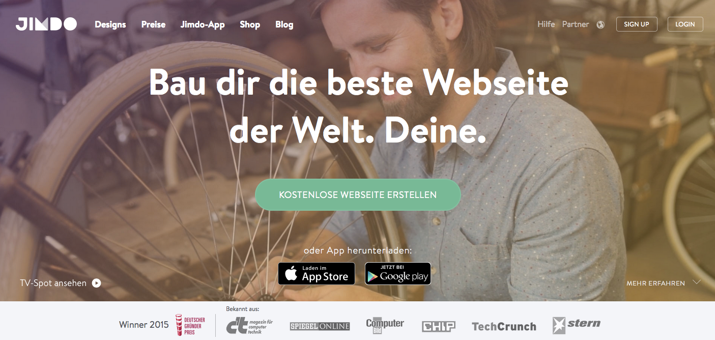 eigene homepage erstellen kostenlos testsieger dating
