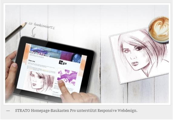 Strato neuer Homepage Baukasten 2