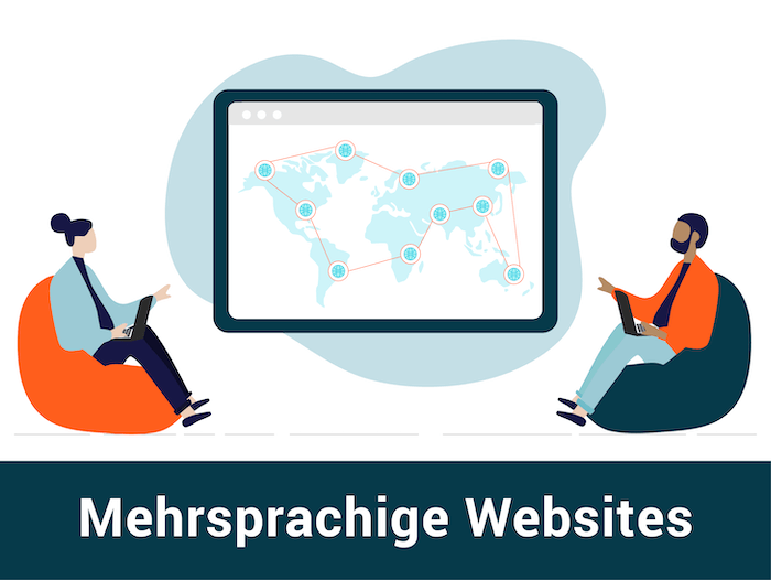 mehrsprachige website
